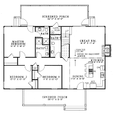 farmhouse style house plan 4 beds 4 00 baths 1970 sq ft plan 17