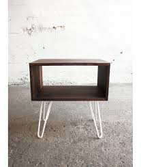hairpin legs grogg nightstand night table bedside table console