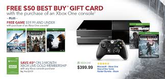 best buy xbox one black friday deals want an xbox one best buy giving free game 50 gift card with