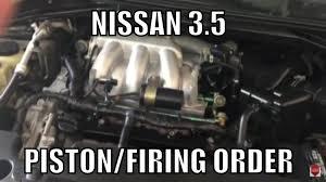 nissan maxima no spark nissan 3 5 firing order piston order youtube