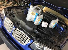 diy oil change 2007 bmw x3 3 0si