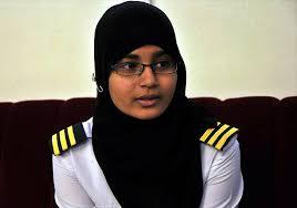 syeda salva fatima first female pilot from hyderabad