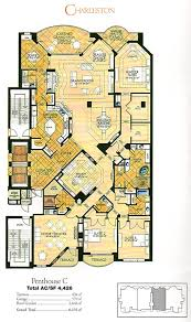 Penthouse Floor Plans Tarpon Landings Floor Plans