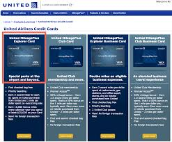 credit cards to consider united mileageplus business card