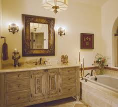 Modern Walnut Bathroom Vanity by Modern Lamp Above Wall Mirror Framless Bathroom Vanities Cabinets