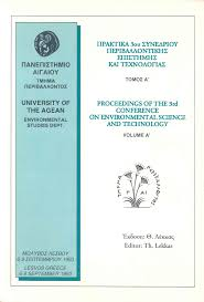 3rd environmental conference proceedings