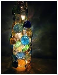 diy soda wine bottle night light recycled christmas lights idea