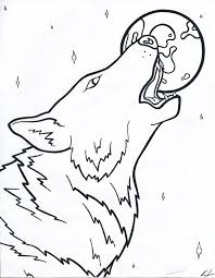 werewolf coloring pages bestofcoloring com