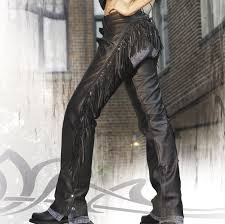 women s sportbike boots interstate leather women u0027s maxie fringed black leather chaps 121