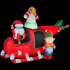 The Home Depot Christmas Decorations Amazon Com Christmas Decoration Lawn Yard Inflatable Airblown