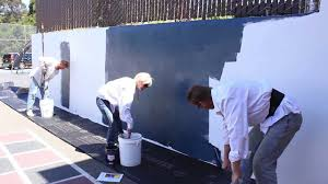 Blackboard Paint For Walls Chalkboard Finish Over Any Cement Or Concrete Wall Complete Video