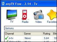 اصدار البرنامج الشيق AnyTV Free v.2.6.2.0 1,64