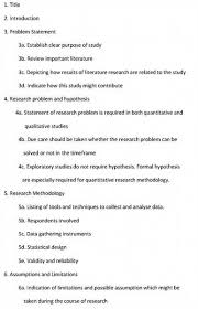 dissertation structure Imhoff Custom Services