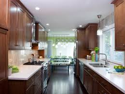 kitchen style modern galley kitchen design ideas white marble