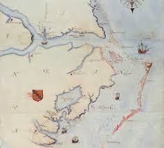 Roanoke Virginia Map by John White Map Chowan Fort Discovery U2013 Analysis Native Heritage