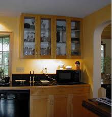 kitchen cabinets with glass doors and lights tehranway decoration