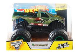 monster truck show discount code amazon com wheels monster jam 1 24 scale xtermigator vehicle