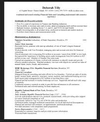 Financial Planner Resume Sample by Certified Financial Planner Resume Financial Advisor