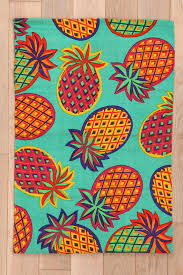 Fruit Rugs Magical Thinking Pineapple Rug Urbanoutfitters Art