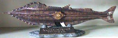 Papercraft del Nautilus. Manualidades a Raudales.