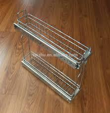 cabinet drawer kitchen pull out basket organizer view kitchen