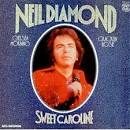 Neil Diamond SWEET CAROLINE UK LP RECORD (