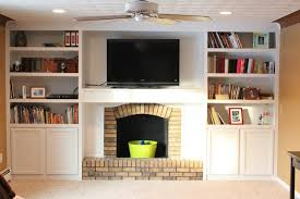 Ikea Bookshelves Built In by Fireplace Remodel With Built In Bookshelves Book Shelves
