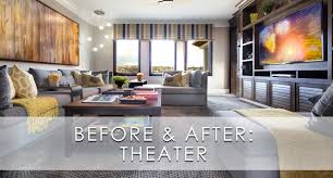 luxury home theater hamptons inspired luxury theater before and after robeson design