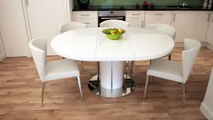 dining room expandable round dining table interior home design