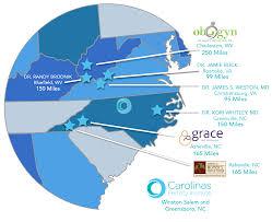 Roanoke Virginia Map by Cfi Affiliate Locations