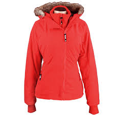 bench kidder c damen winterjacke red rd020 online kaufen