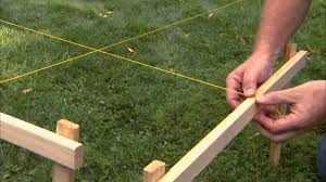 fence installation tips layout and digging post holes youtube