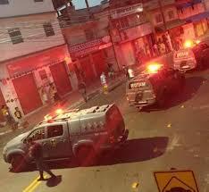 Ônibus é depredado na Serafim Derenzi em Vitória   Folha Vitória