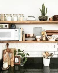Kitchen Shelf Decorating Ideas Open Shelving U2026 Pinteres U2026