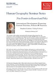 Teaching   WaterWords King s Blogs   King s College London Event flyer for Stephen Linter     s seminar on   February