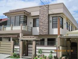 Modern Exterior House Design With Stone  Of  Images About - Modern contemporary home designs