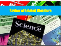 thesis writing review of related literature