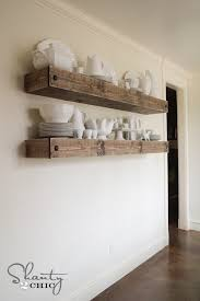 Wood Shelf Plans Free by Diy Floating Shelf Plans For The Dining Room Shelves Tutorials