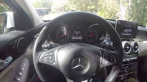 how to mercedes gear selector youtube