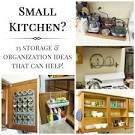 15 Small Kitchen Storage & Organization Ideas » ForRent.com ...