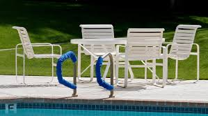 How To Clean Outdoor Patio Furniture by How Do You Clean Vinyl Straps On Patio Furniture Reference Com