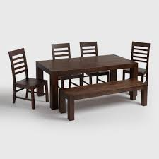 unique rustic dining room furniture sets world market donnovan dining collection