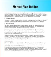 Starting A Business Plan Template Business Plan Template Excel Format