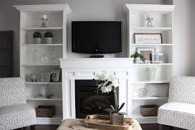 bookcases either side of fireplace photos yvotube com