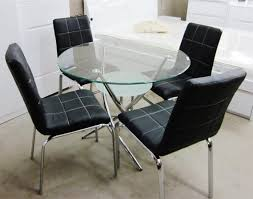 round glass kitchen tables and chairs captainwalt com