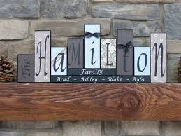 Personalized Signs For Home Decorating 137 Best Tara U0027s Blocks Personalized Name Block Letters Home