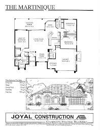 Home Builder Floor Plans by Floor Plans Joyal Construction