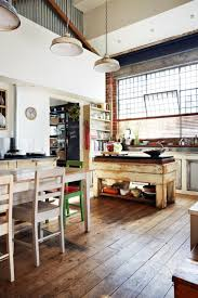 kitchen style gorgeous industrial and rustic designs resurfaced