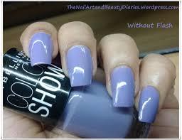 maybelline colorshow u0027lavender lies u0027 nail polish review the nail