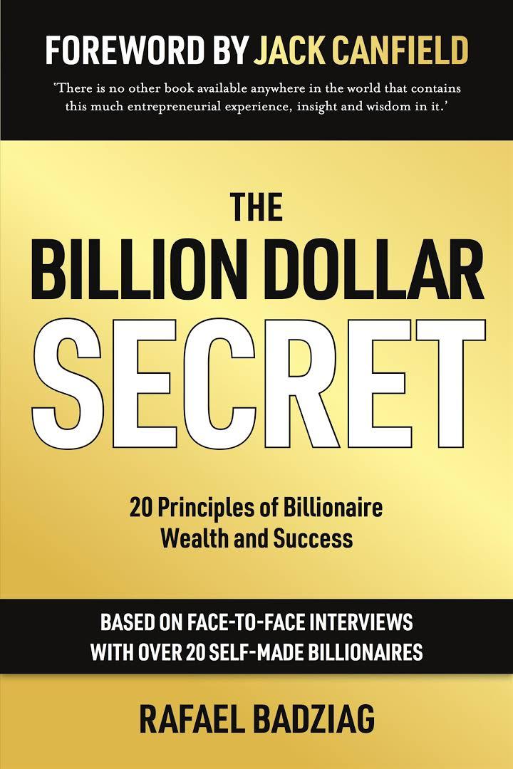 「rafael badziag the billion dollar secret」的圖片搜尋結果